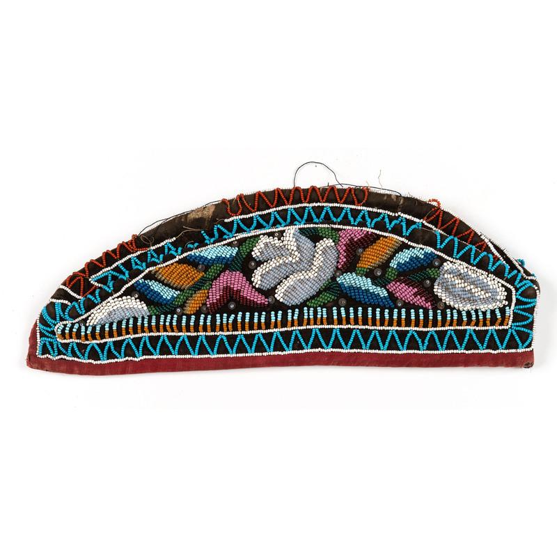 Haudenosaunee Beaded Hat