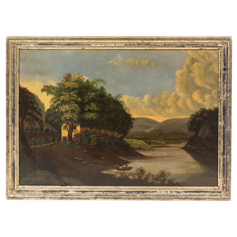 A Hudson River School Landscape
