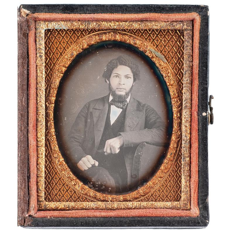 Daguerreotype of an African American Gentleman, circa 1857