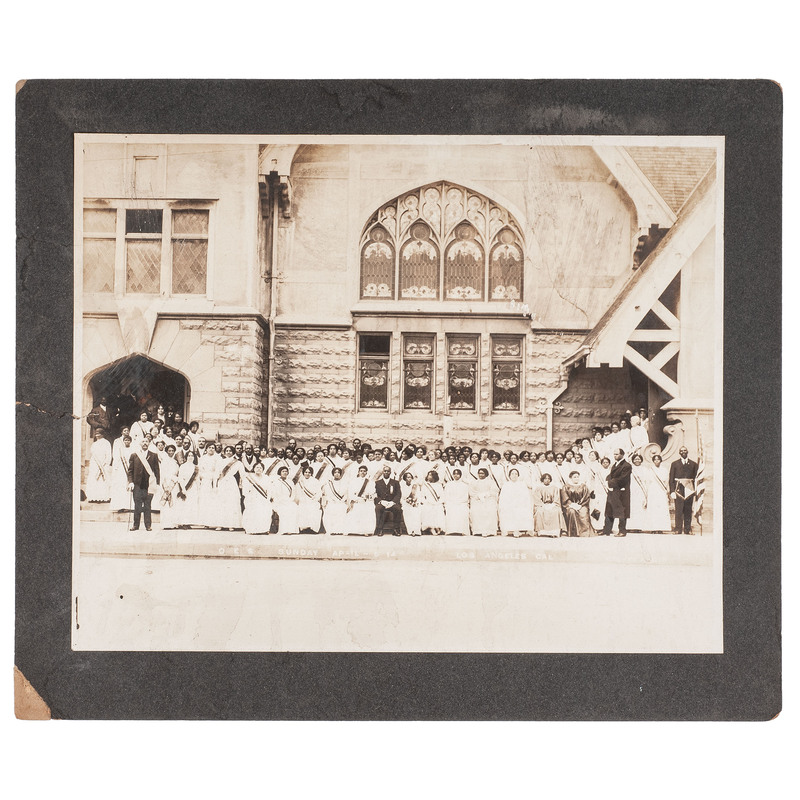 Church, Los Angeles, Oversized Photograph, circa 1914