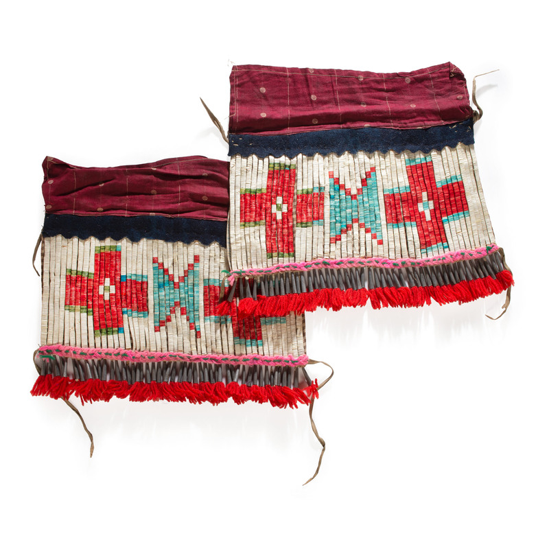 Sioux Wool Leggings, From the Stanley B. Slocum Collection, Minnesota