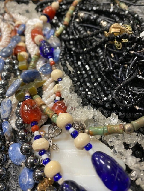 17 Assorted Beaded Necklaces