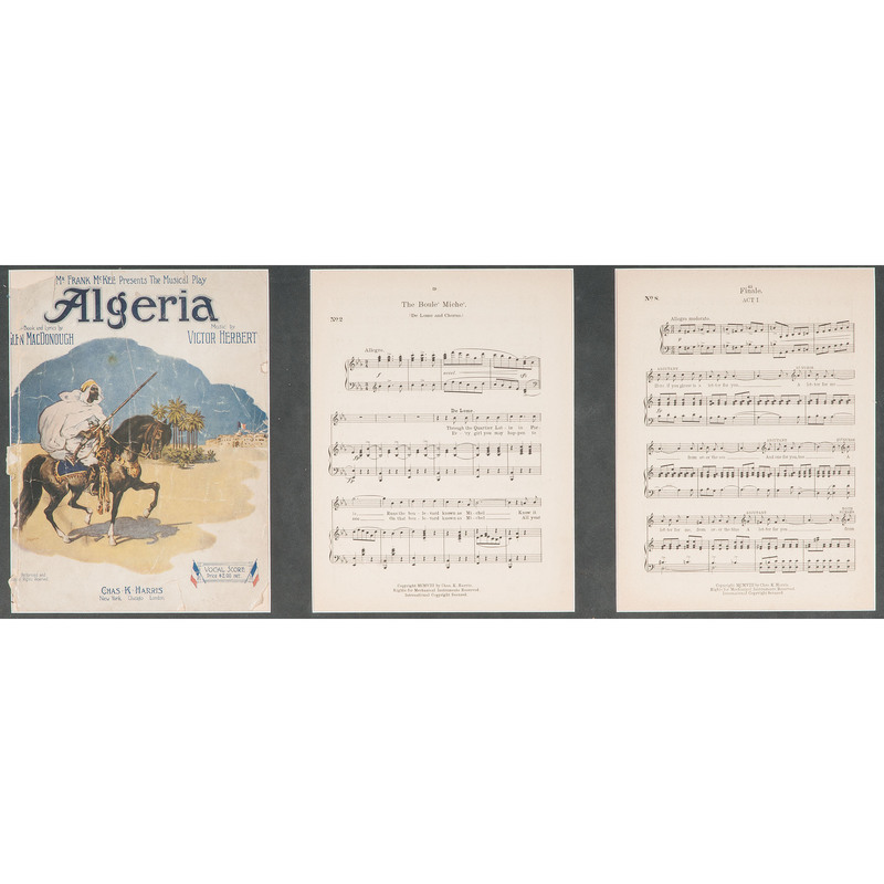 Algeria Sheet Music