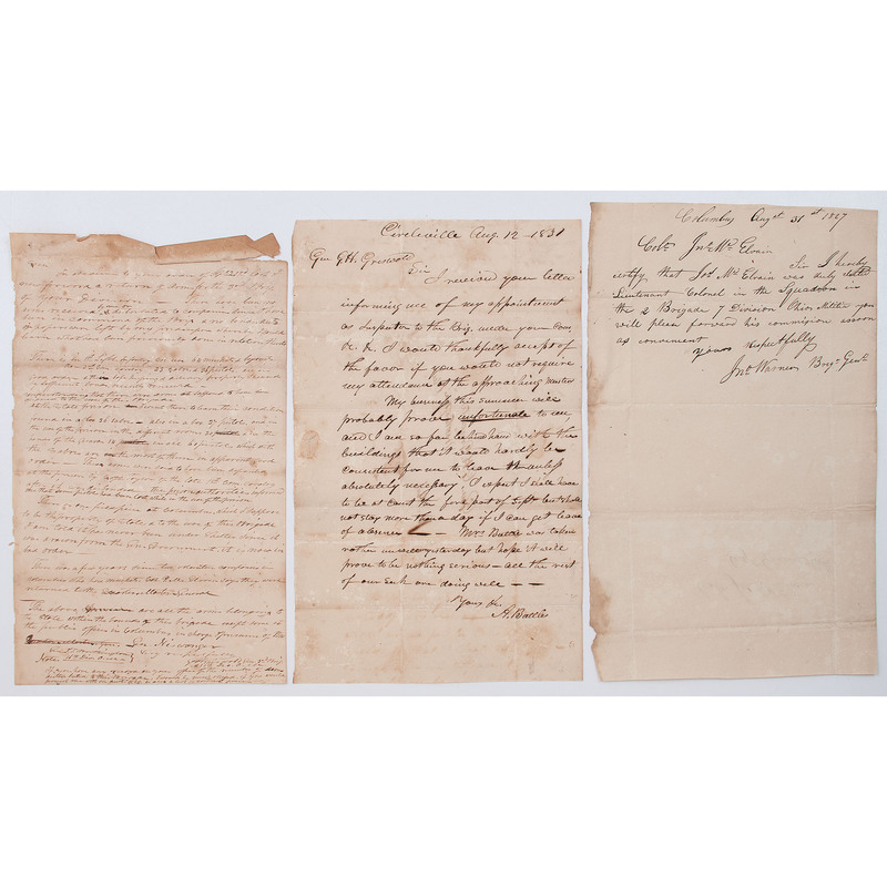 Ohio Militia Documents for the First Half of 19th Century