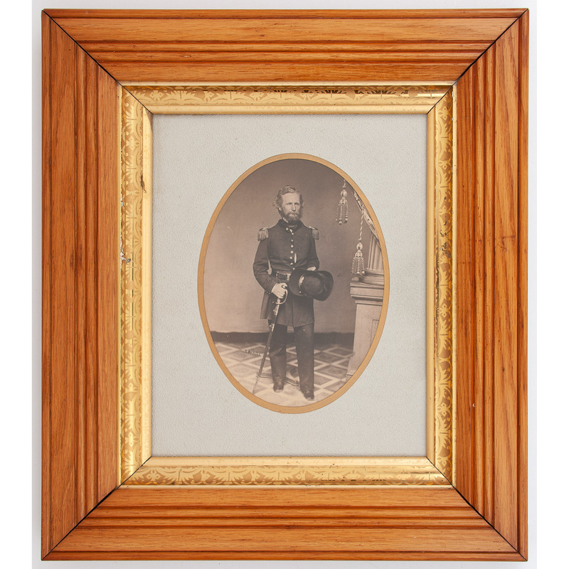 Union General Nathaniel Lyon, Large Format Photograph by Troxell, St. Louis