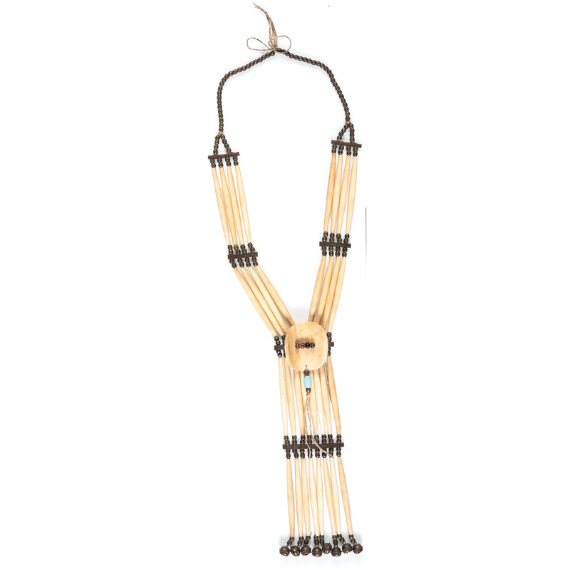 Plains Bone Hairpipe Necklace