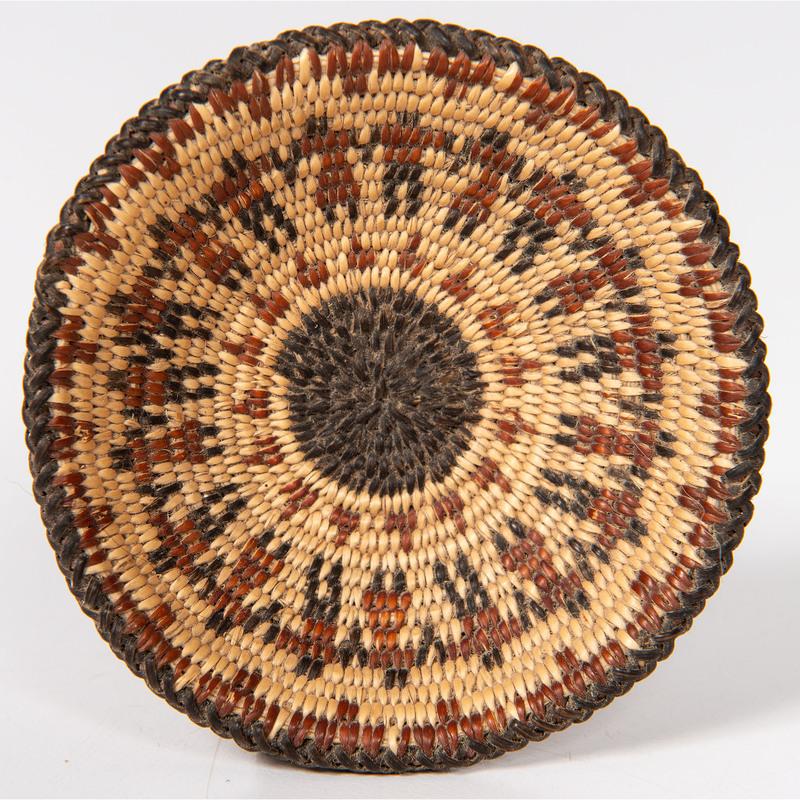 Tohono O'odham Miniature Figural Basket