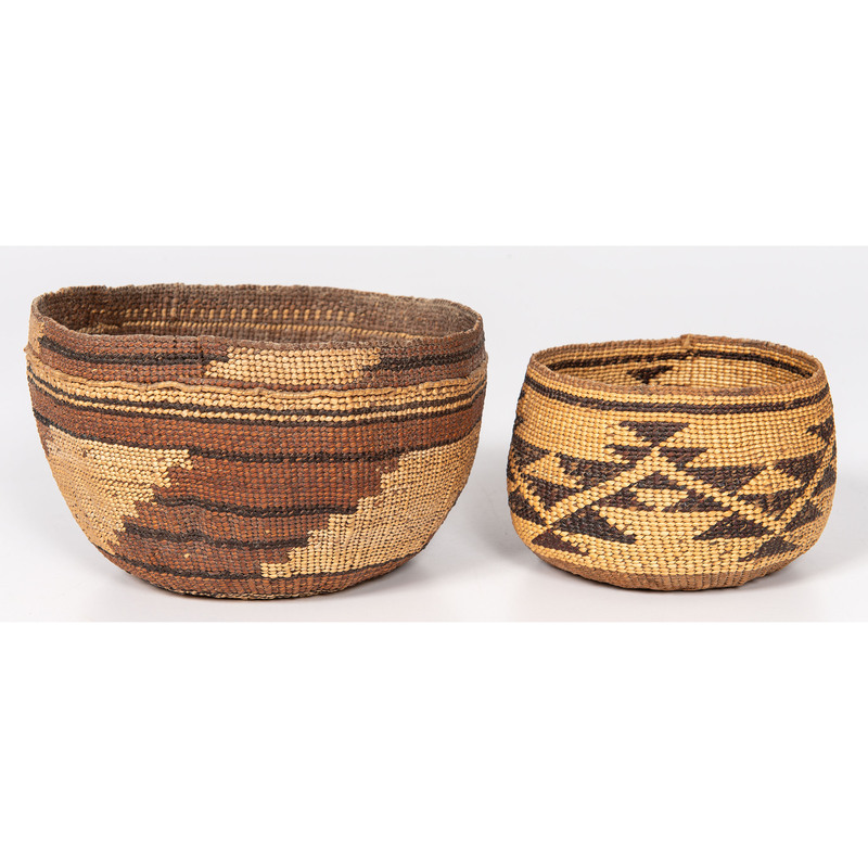 California Basketry Hat and Basket