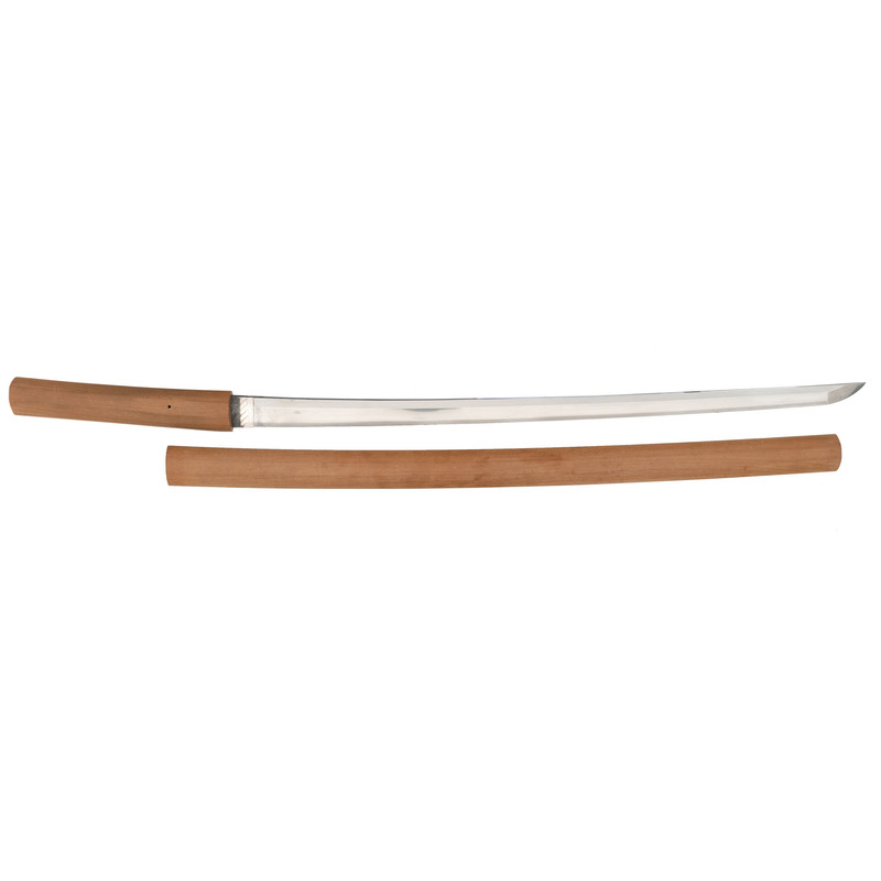Gendaito Japanese Samurai Sword (Katana) Signed Kanemichi