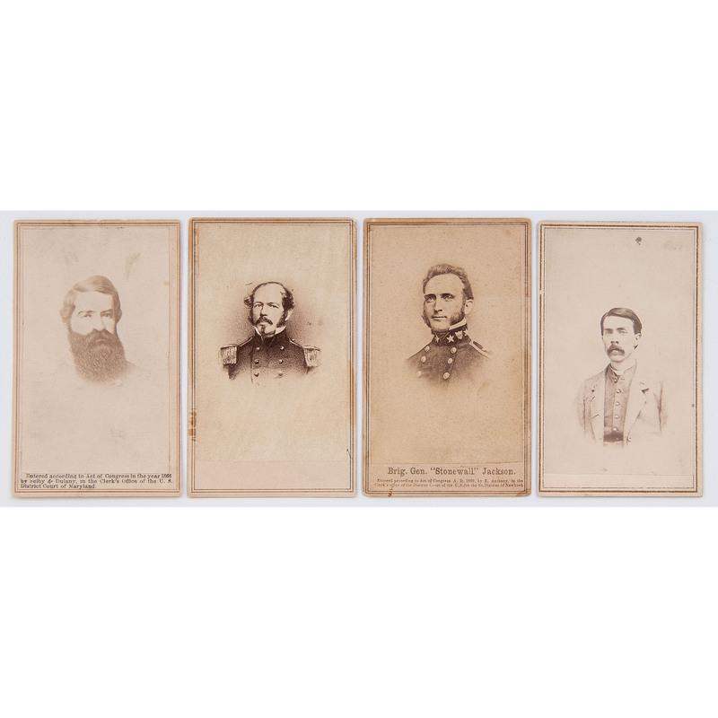 Thomas Stonewall Jackson's Personal Surgeon, Dr. Hunter Holmes McGuire, Civil War CDV, Plus