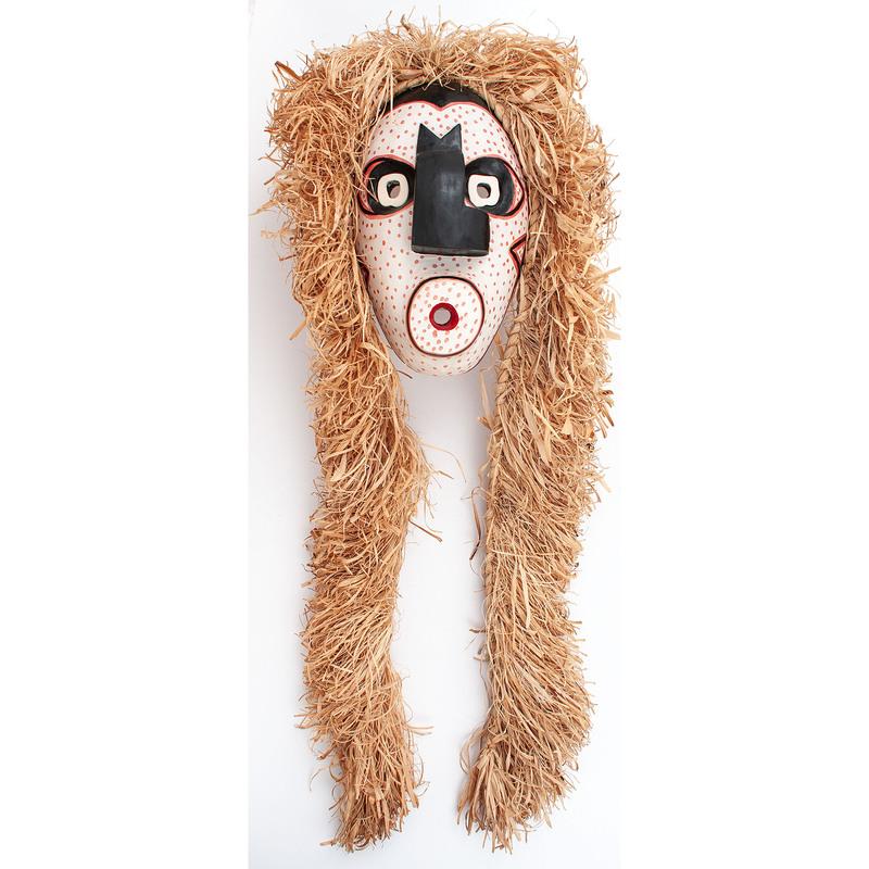 Skende'san (Mohawk, 20th century) False Face Mask