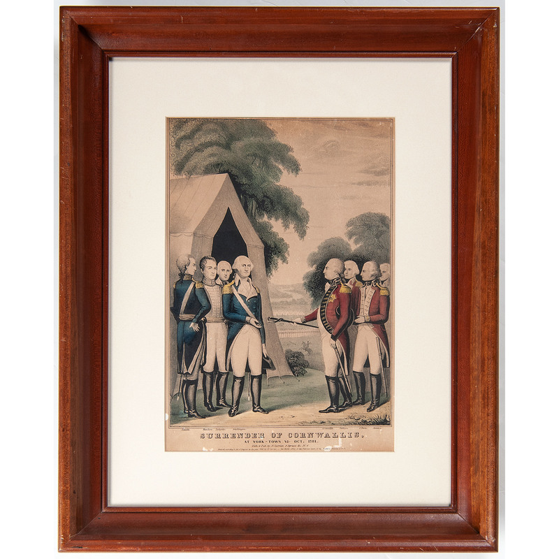Currier American Revolution Lithographs, Lot of 3