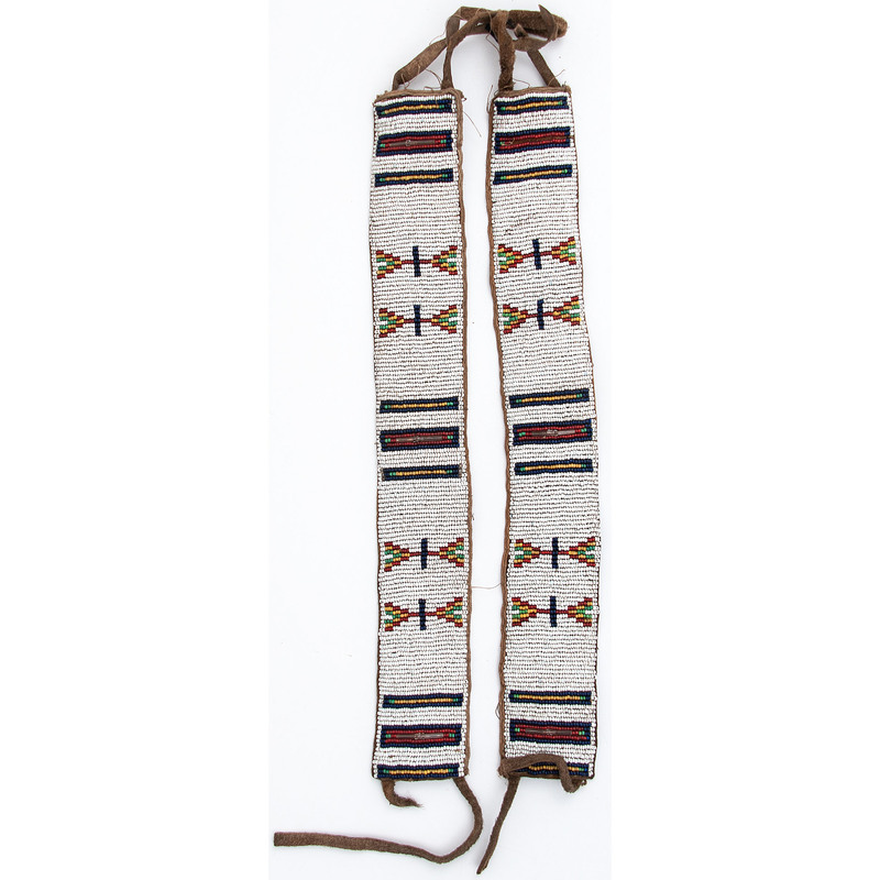 Plateau Beaded Arm Bands, From the Stanley B. Slocum Collection, Minnesota