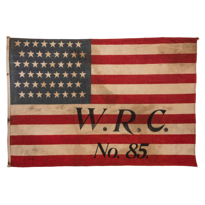48-Star Women's Relief Corps Flag