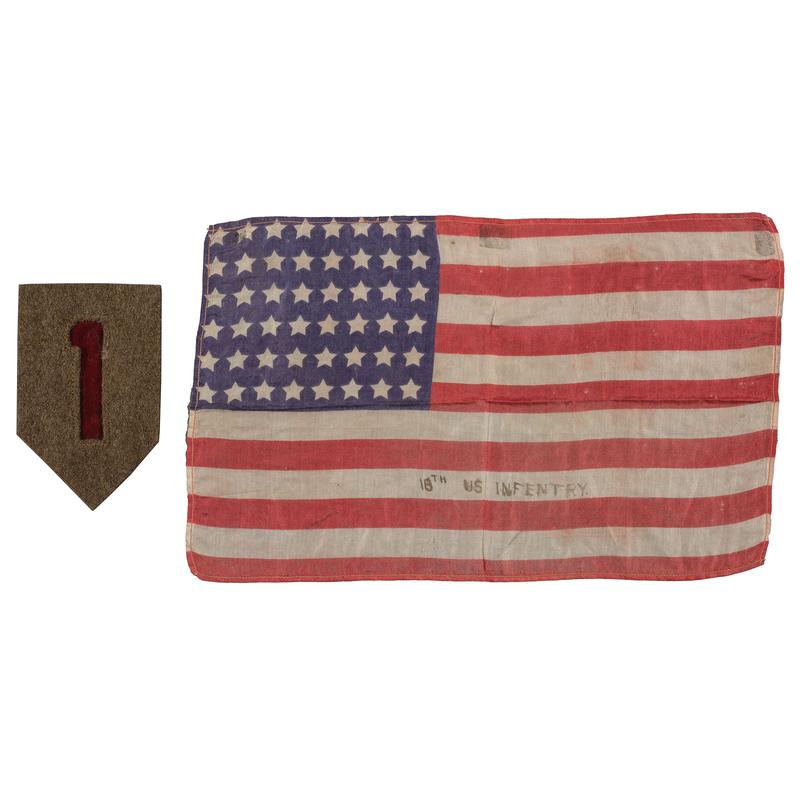 48-Star 18th US Infantry Flag