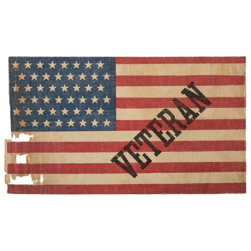 48-Star Veteran Flag