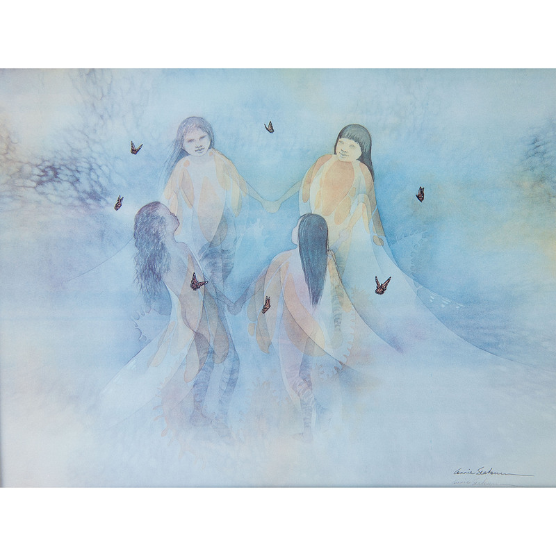 Annie Seabourn (American, 20th Century) Lithograph on Paper