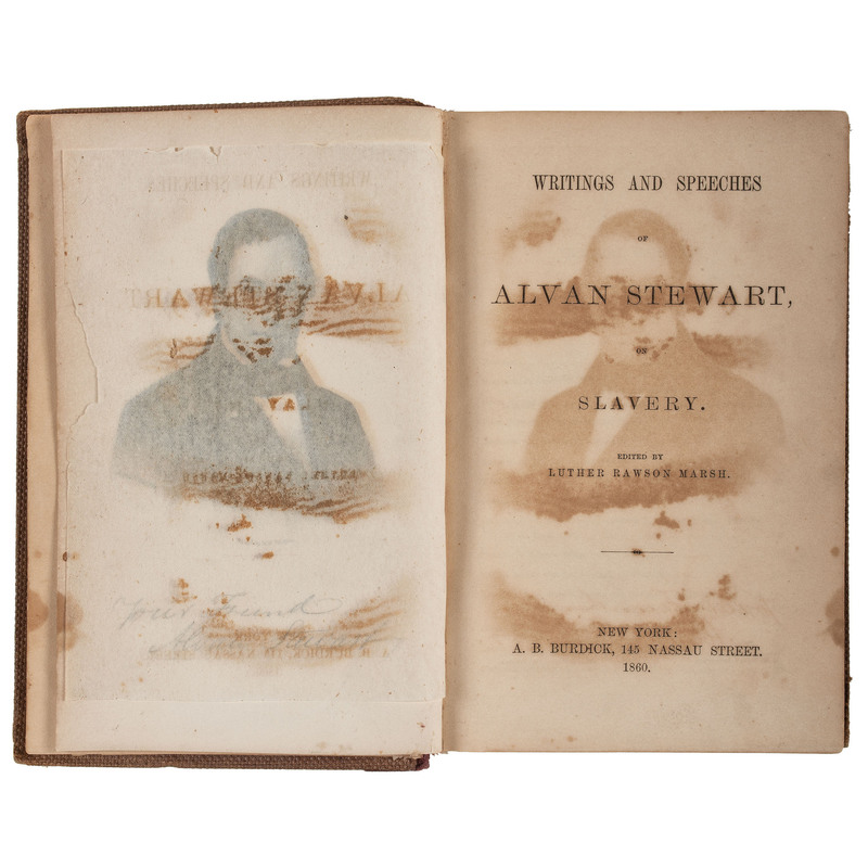 [SLAVERY & ABOLITION] -- A group of works about slavery, abolition, and its role in Kansas statehood, comprising: