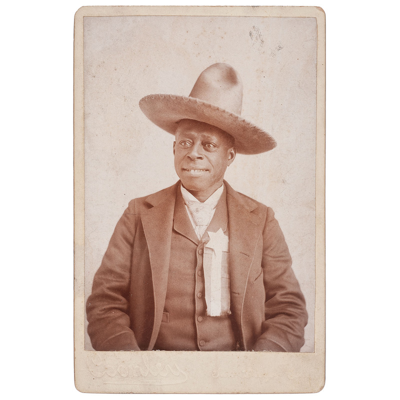 Reuben the Guide Cabinet Card, Postcards, and Scarce Cigar Collar