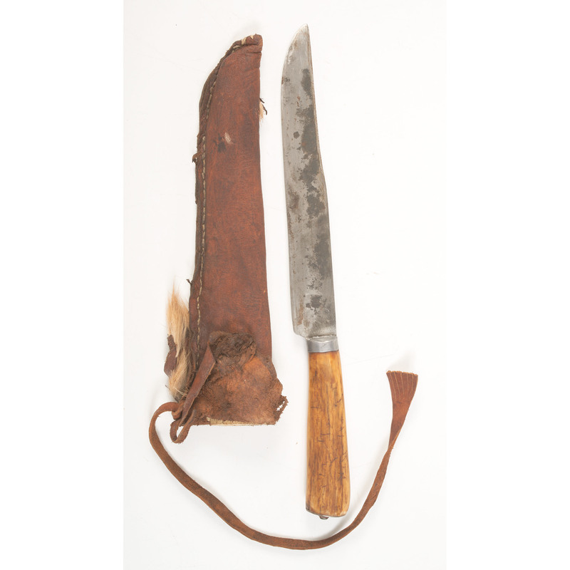 Woodbury Style Knife by Heinz Ahlers, Sold to Benefit the Contemporary Longrifle Foundation