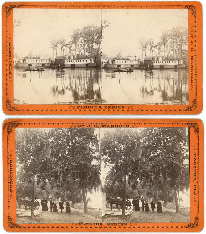 FLORIDA STEREOVIEWS BY J.G. MANGOLD PLUS ONE