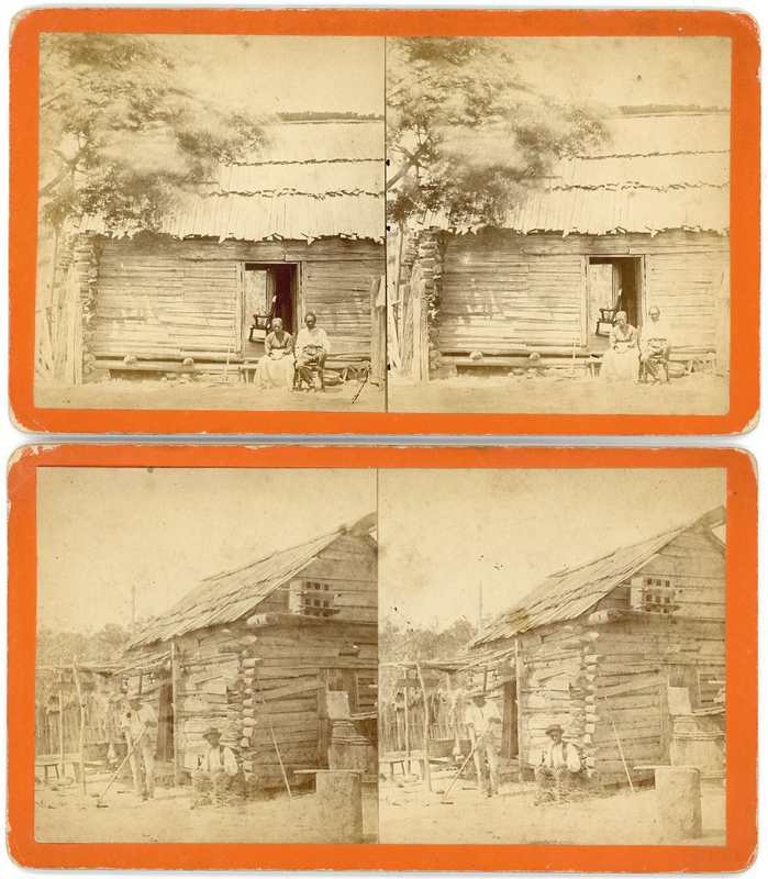 BLACK HISTORY AFRICAN AMERICAN & 100 LITHO STEREOVIEWS