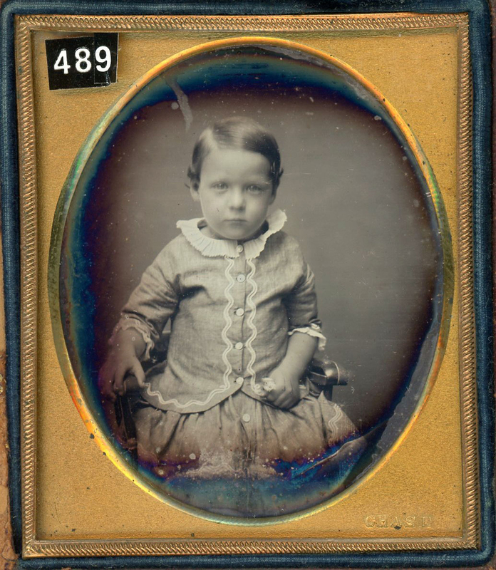 DAGUERREOTYPES BY HALE, CHASE, COLLINS