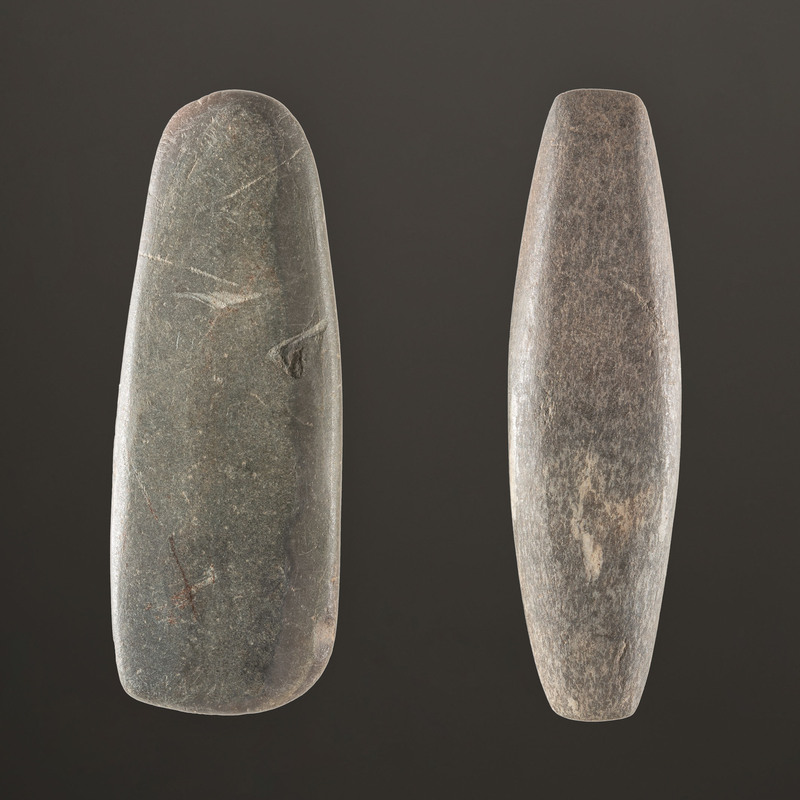 A Pair of Bar Weights, Largest 3-5/8 in.