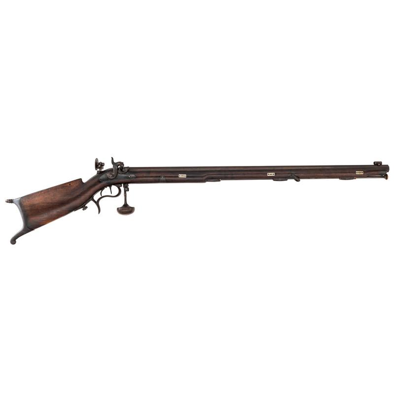 Swiss Schuetzen-style Percussion Rifle, .36cal