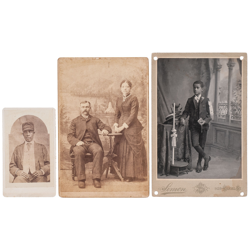 Early Photographs of African American Subjects, Plus