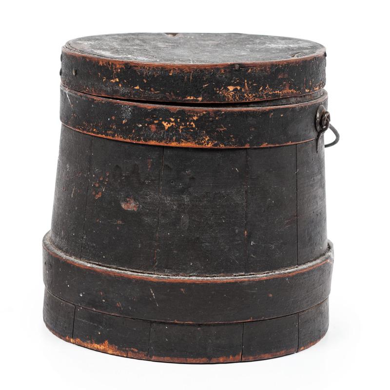 A Firkin in Old Black Paint