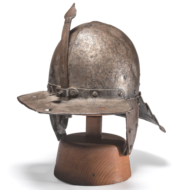 17th Century English Lobster-Pot Helmet
