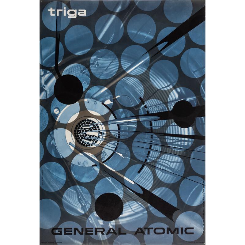[FINE ART]. NITSCHE, Erik (Swiss, 1908-1998). Triga / General Atomic division of General Dynamics. Lausanne, Switzerland: R. Marsens, 1955.