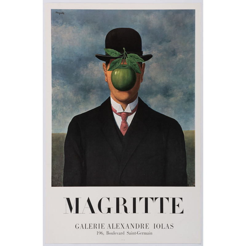 [FINE ART] -- [MAGRITTE, René (Belgian, 1898–1967)]. Magritte / Galerie Alexandre Lolas / 196, Boulevard Saint-Germain. Paris: Ifag, 1967.