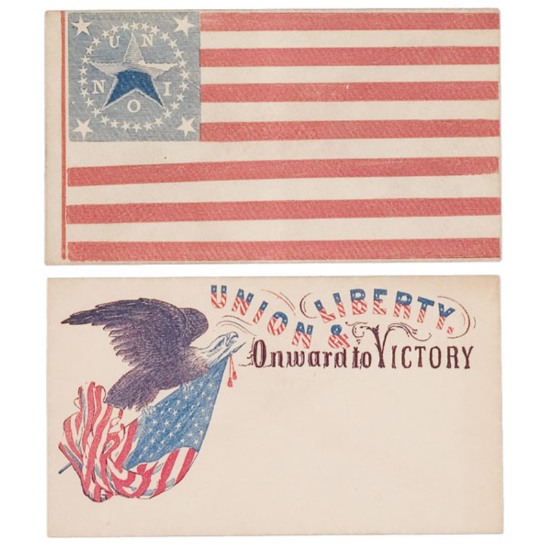 Collection of Civil War Patriotic Covers and Letter Sheets,
