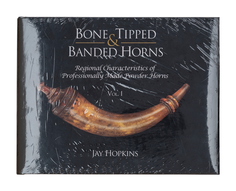 """""""Bone Tipped & Banded Horns Vol. I"""" Book by Jay Hopkins"""