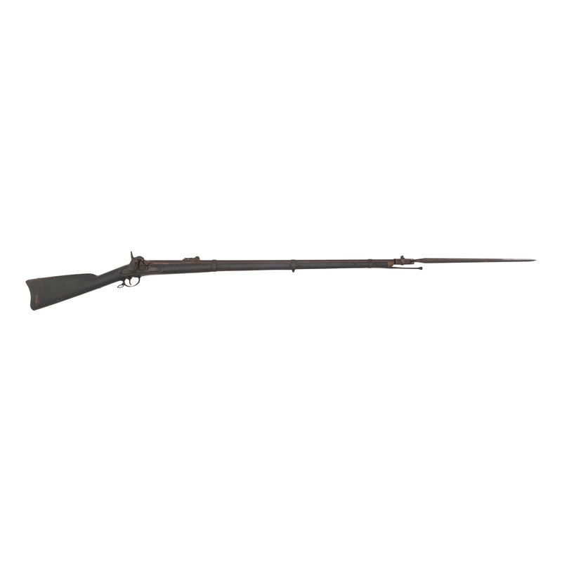 US Model 1855 Rifle Musket by Harpers Ferry with Bayonet
