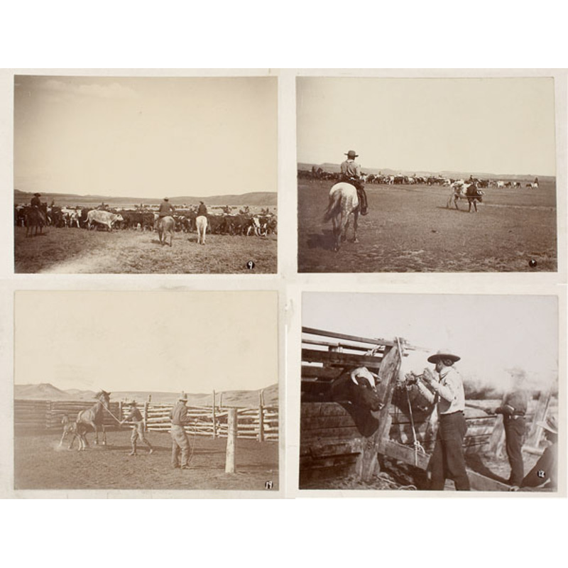 An Exceptional Collection of L.A. Huffman Cabinet Cards and Other Images,