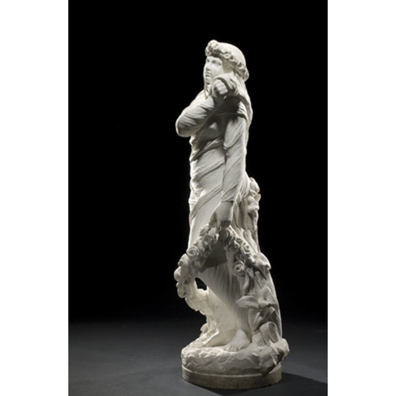 Edmonia Lewis Marble Sculpture, The Bride of Spring,