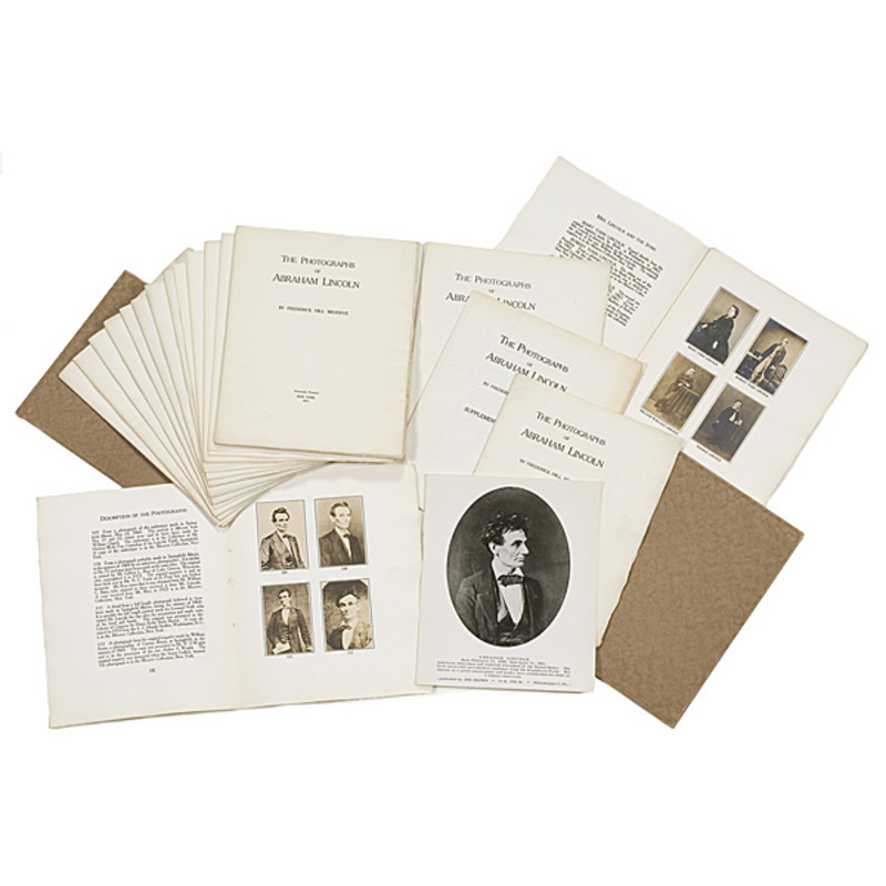 An Exceptional Private Printing of a Catalogue of all Known Lincoln Photographs,