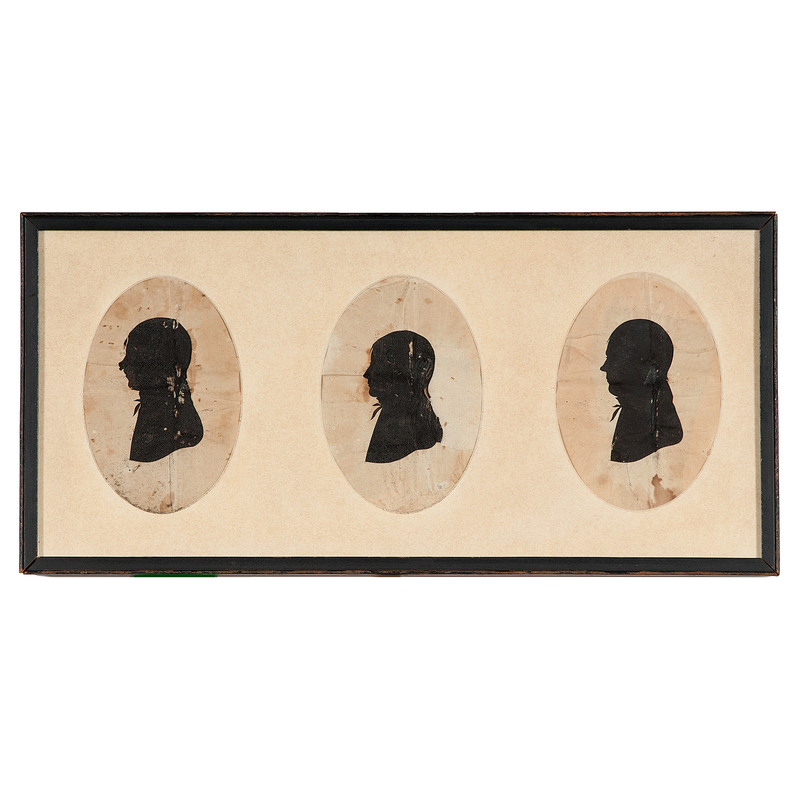 Silhouettes by King and after William Henry Brown
