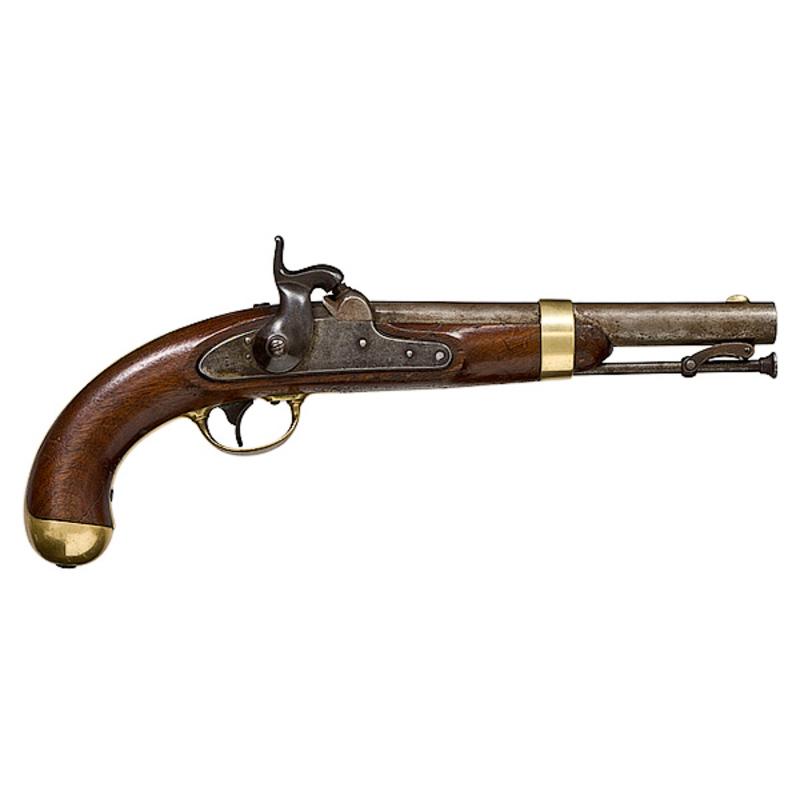 Johnson Model 1842 Pistol,