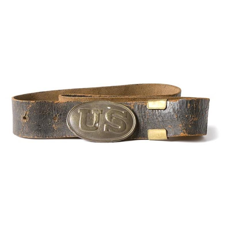 Civil War Belt and Buckle,