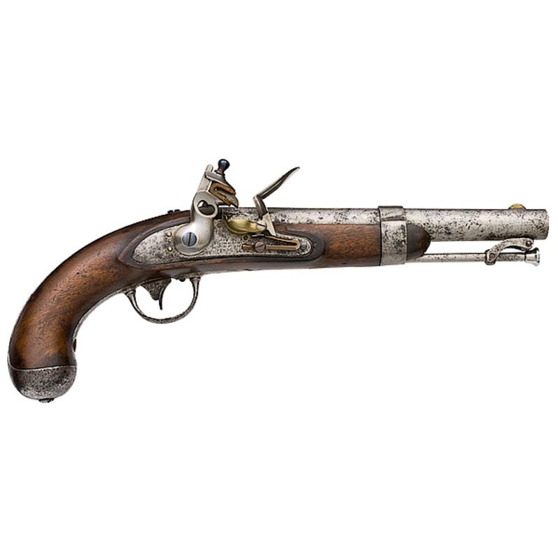 Johnson Model 1836 Flintlock Pistol,