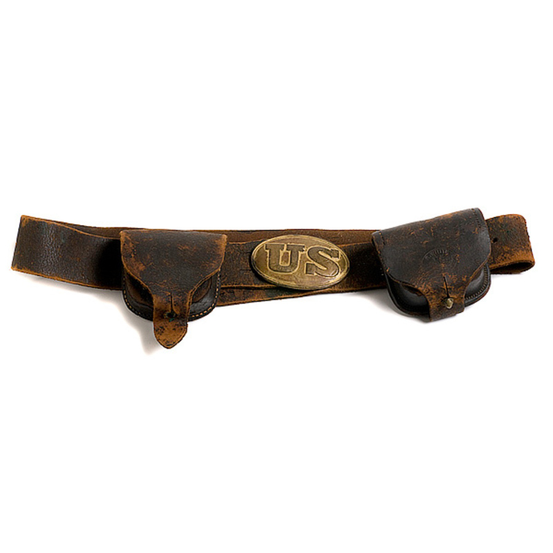 Belt, Buckle and Cartridge Boxes,