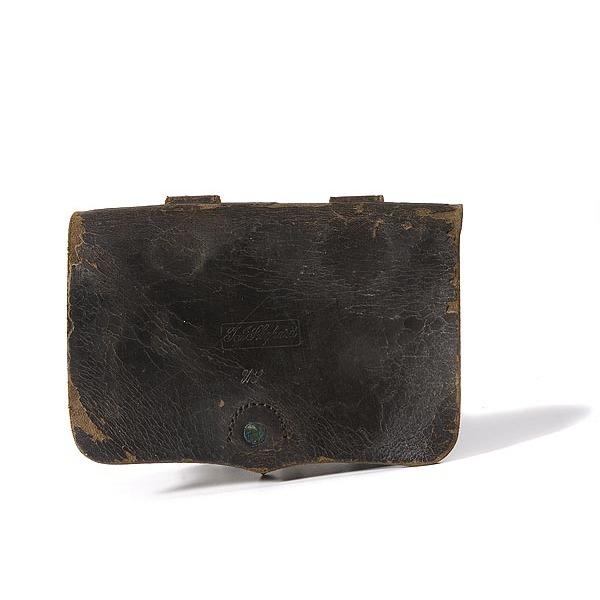 Civil War .36 Caliber Revolver Cartridge Box,