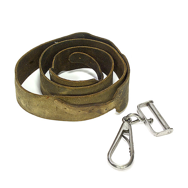 Civil War Carbine Ring And Snap & Buff Leather Strap,