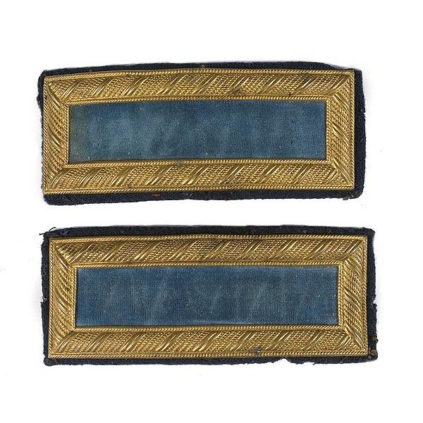 Pair of 2nd Lieutenant's Shoulder Straps,