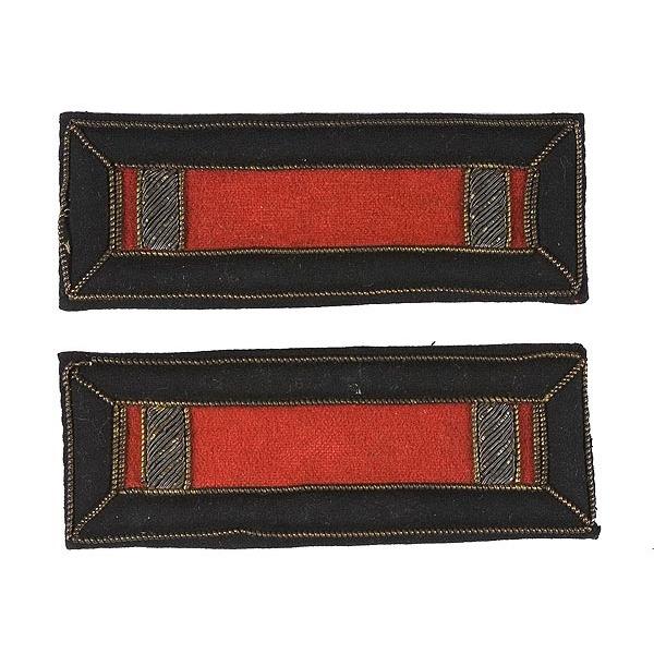 Pair of 2nd Lt. Artillery Straps,