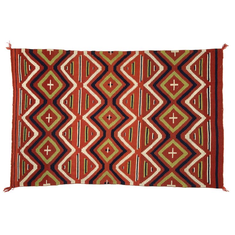 Early Late Classic Navajo Serape,
